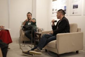 宮島達男さん×山出淳也さんによるトークイベント@OVER THE BORDER